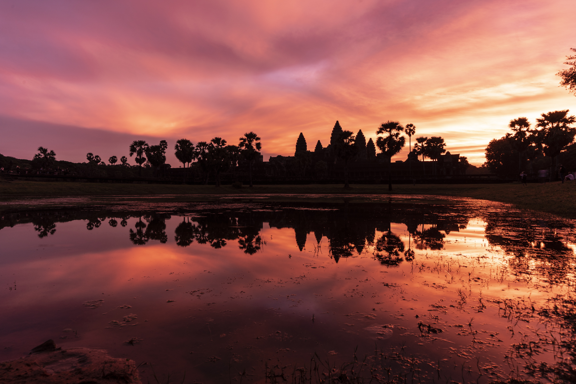 Sunrise seen AngkorWat